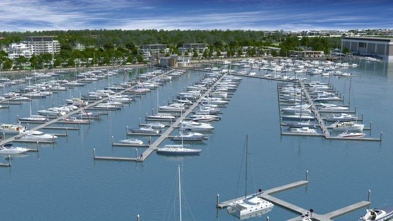 ▲ The North Harbour development will also take advantage on in-demand boat moorings across South East Queensland.